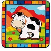 Пазл «Корова», Bino 88004