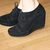 Замшевые туфли Roberto Santi 35 размер