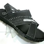 Чёрные мужские сандалии 6170 чёрн