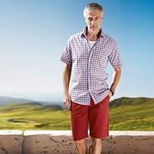 Класснючие коттоновые шорты от тсм Tchibo размер XL евро наш 54-56