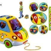 Машинка игрушка-сортер Автошка