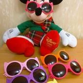 Детские солнцезащитные очки Кошка, оранжевые