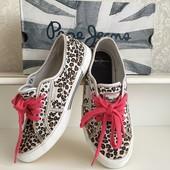 Кеды Pepe jeans Лондон р37 (EUR38 uk5) леопард