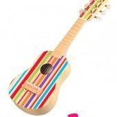 Детская деревянная гитара, Lelin 15-012