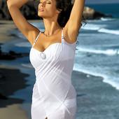 Парео пляжная туника Marko регулируемые шлейки с украшением доступно и красиво
