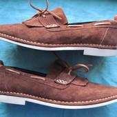 Swear London (разм. 44,5, 28,5 см) замшевые туфли мужские