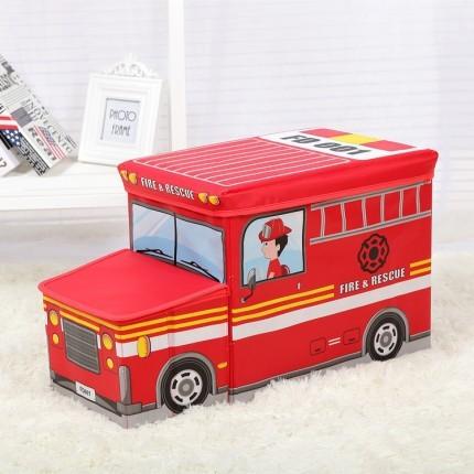 Пуф короб складной, ящик для игрушек с капотом, разные варианты фото №1