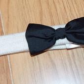 Красивая фирменная повязка для девочки 6-12 месяцев, 48 см