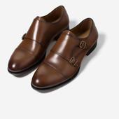 Туфли кожаные с пряжкой.Мужчина.Zara.Испания.