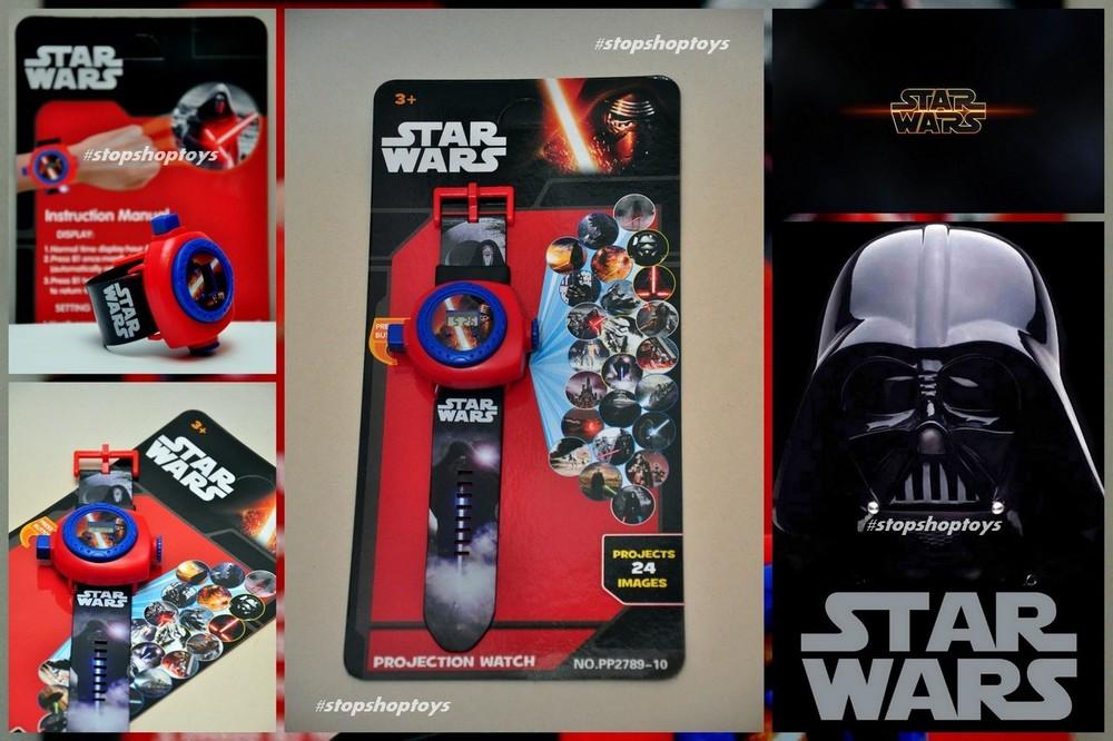 """""""star wars"""" наручные часы - проектор """"звездные войны"""". 24 изображения! фото №1"""