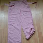 Красивые льняные брюки на девочку
