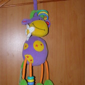 Развивающая игрушка подвеска коровка Tolo