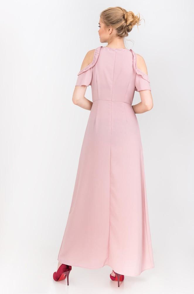 Платье с открытыми плечами фото №2
