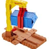 Часть трека - Hot Wheels track builder crate drop stunt pack