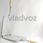 Алюминиевая форма для выпечки трубочек вафельница