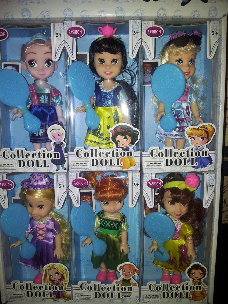 Шикарные куклы принцессы с аксессуарами фото №1