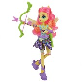 My Little pony Флатершай кукла пони стрельба из лука fluttershy equestria girls