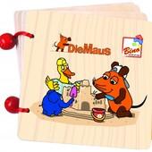 Книжка с рисунками - Мышка Bino 13501