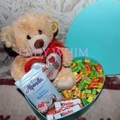 Подарочный набор Поющий мишка + Love is..