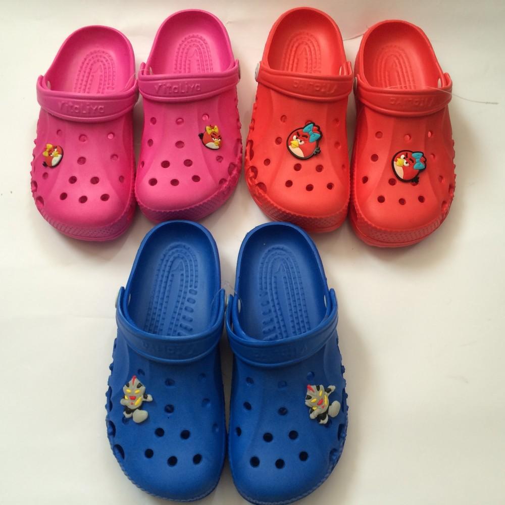 Кроксы синие красные розовые для девочки и мальчика фото №5