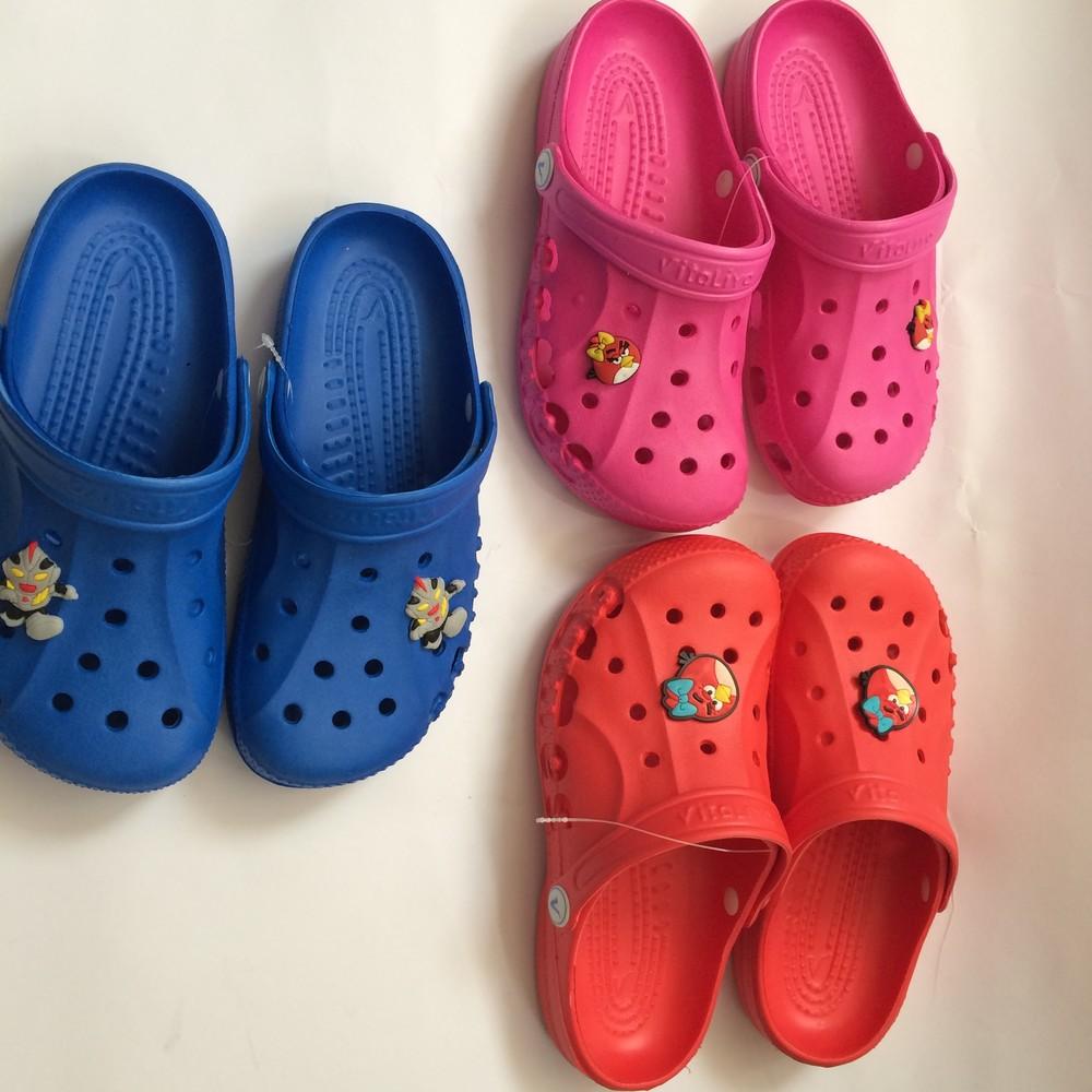 Кроксы синие красные розовые для девочки и мальчика фото №6