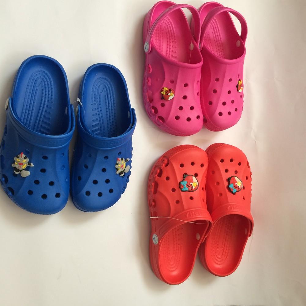 Кроксы синие красные розовые для девочки и мальчика фото №7
