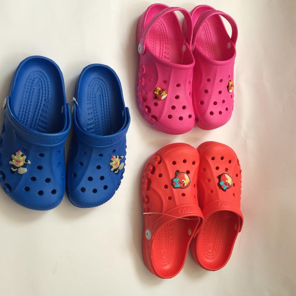 Кроксы синие красные розовые для девочки и мальчика фото №8