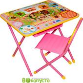 Детский складной набор мебели Дэми Союзмультфильм Винни пух, розовый (Д-20031210)