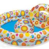 Бассейн надувной Intex с набором в наличии