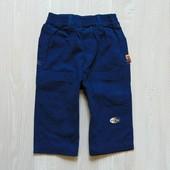 Стильные джинсики для модника. Плотный котон. Цвет: насыщенный синий. Размер 12 месяцев
