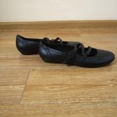 Janet D. р.40 балетки туфлі шкіра