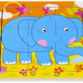 Пазл «Слон», Lelin Артикул: 22-021