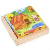 Набор кубиков «Три поросенка», Lelin Артикул: 22-040