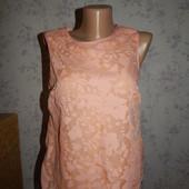 Dorothy Perkins блузка шифоновая стильная модная р10