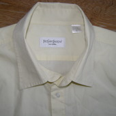 YSL  Yves Saint Laurent рубашка с коротким рукавом