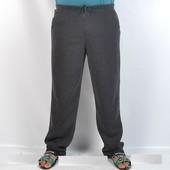 Штаны спортивные мужские тёплые на флисе прямые, манжет размеры от 46 до 68
