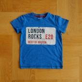 98-110 см Next отличнейшая фирменная футболка хлопок. Длина - 44 см, ширина - 34 см. Без дефектов. 7
