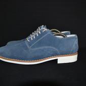 итальянские замшевые туфли, р. 42