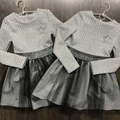 Стильное платье р.128 134 140 146
