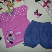 Шорты+футболка Disney 3-4г(98-104см)Мега выбор обуви и одежды!.