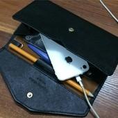 3-16 Женский кошелек Wallet-Clutch Цвет - черный