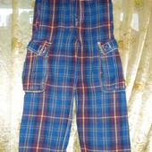 Теплые плотные штаны на 6-7 лет