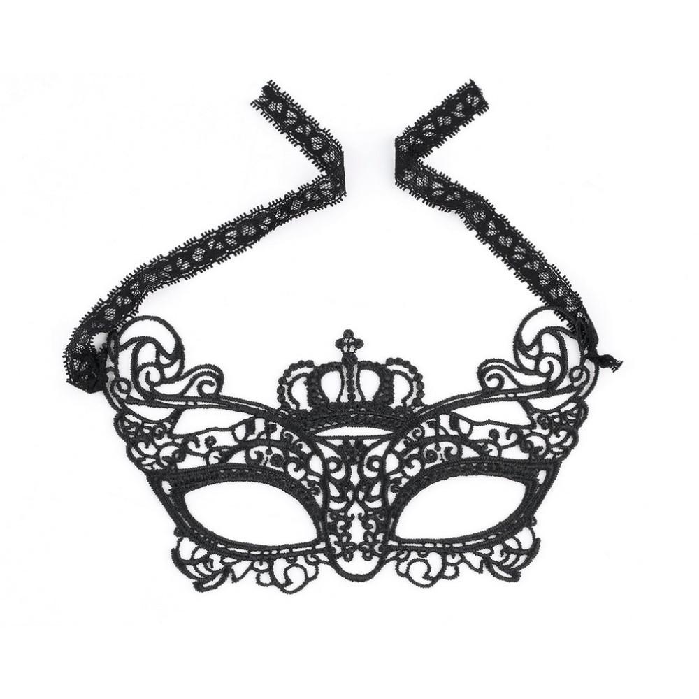 Маска «корона» / эротическое белье / сексуальное белье / еротична сексуальна білизна фото №1