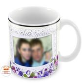 Печать фото и Ваших изображений на чашках. Разработка макета Бесплатно!