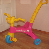 Велосипед трехколесный от 15мес.Sanrio Hello Kitty оригинал Италия