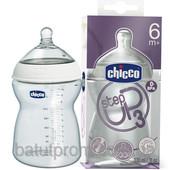 Бутылочка для кормления Chicco Step Up 3, 330 мл, 6+