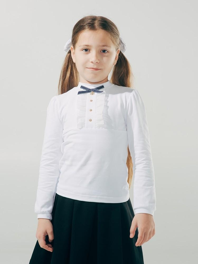 -20%школьная форма. smil. блуза с декоративной планкой, длинный рукав от 140 р фото №1