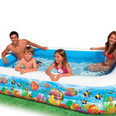 Семейный надувной бассейн Intex 58485  (305*183*56 см)