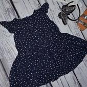 9 - 12 месяцев 80 см Очень нежное модное платье сарафан для принцессы звездочки Next некст