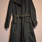 Джинсовое пальто, в идеальном состоянии, р. S